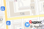 Схема проезда до компании ArtЕko в Алматы