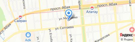 Гермес фабрика рекламы на карте Алматы