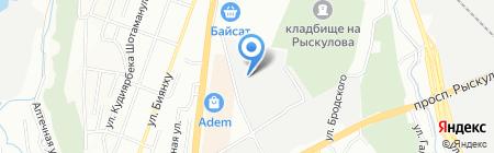 ТЕПЛО MZ на карте Алматы