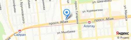 I.S.V. Ltd. на карте Алматы