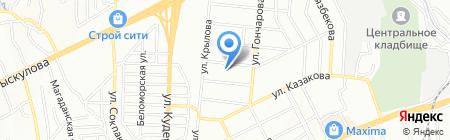 К Инторг Сервис на карте Алматы