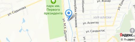 К-9 на карте Алматы