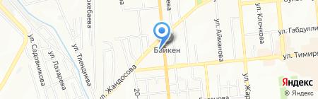 Мадина Р на карте Алматы