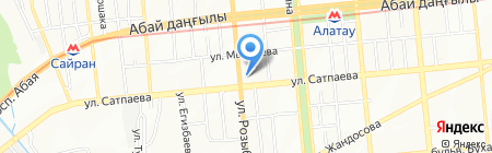 Adal на карте Алматы