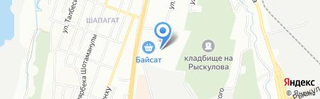 Меховичок на карте Алматы