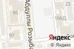 Схема проезда до компании Колибри Эля в Алматы