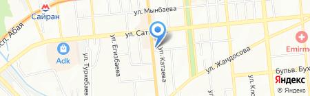 Мастер Сервис Franke на карте Алматы