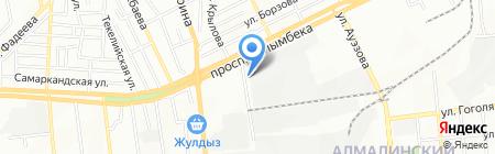 Маркет-Про на карте Алматы