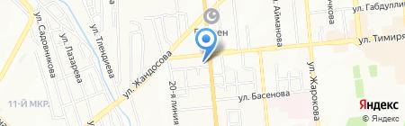 ЭvО на карте Алматы