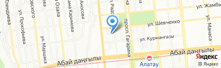 Деко-Стиль салон штор на карте Алматы