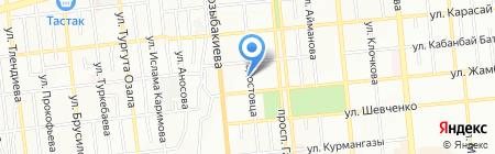 BG на карте Алматы