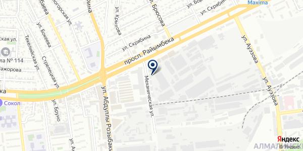 Группа Партнер-Бизнес системы на карте Алматы