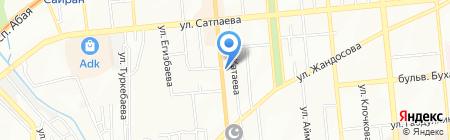 Гостиный дворик на карте Алматы