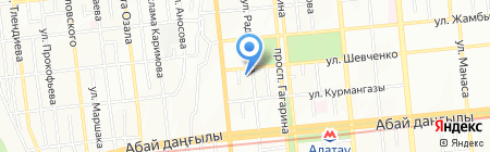 Papa Carlo на карте Алматы