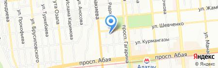 SanWay на карте Алматы