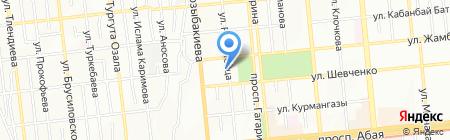 TANDEM на карте Алматы
