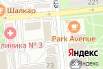 Схема проезда до компании СТРОЙМАРТ в Алматы