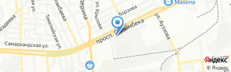 YESSEYM ТОО на карте Алматы