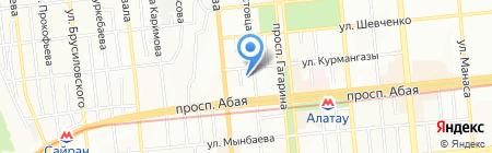 VisualSoft на карте Алматы