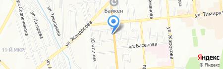 АКСУ кафе на карте Алматы