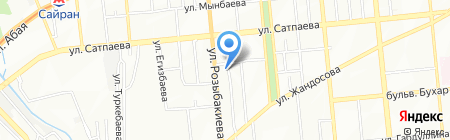 Москва на карте Алматы
