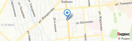 TNT Express на карте Алматы