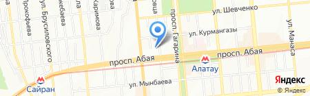Way Cup на карте Алматы
