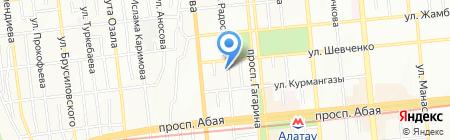 Anegri на карте Алматы