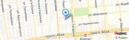 Королевские окна на карте Алматы