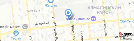 Мг. Archi`s на карте Алматы