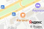 Схема проезда до компании Тас Тандау в Алматы
