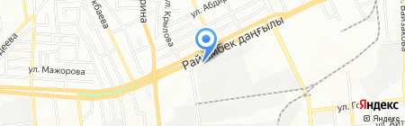 Кровельный мастер ТОО на карте Алматы