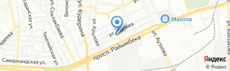 Optimal Service на карте Алматы