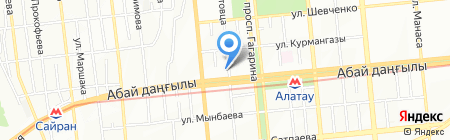 Магия Золота на карте Алматы