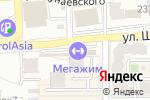 Схема проезда до компании BossTan GYM в Алматы
