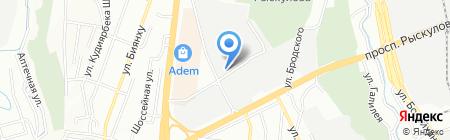 БИТЕЛЕКОМ АО промышленно-строительная телефонная компания на карте Алматы