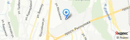 SNAMI-TRANS на карте Алматы