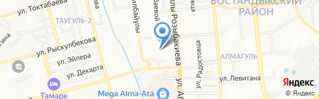 Scrapbook.kz на карте Алматы