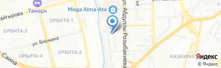 Almeo Group на карте Алматы