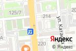 Схема проезда до компании Айя в Алматы