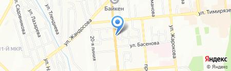 Тан 7 на карте Алматы