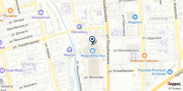Mi store на карте Алматы