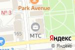 Схема проезда до компании ICA Service в Алматы