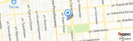 Государственный академический театр танца на карте Алматы