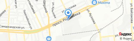 Нотариус Сущих Г.А. на карте Алматы