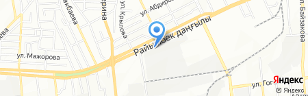 GENERAL на карте Алматы
