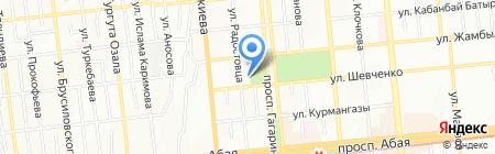 Нурлы Тас на карте Алматы