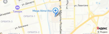 Банкомат Bank RBK на карте Алматы