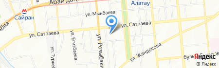 M-Studio на карте Алматы