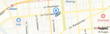 Al Pacino на карте Алматы